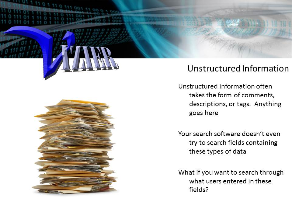Unstructured Information